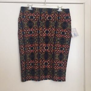 XL Lularoe Cassie SkirtThis is a brand new skirt f